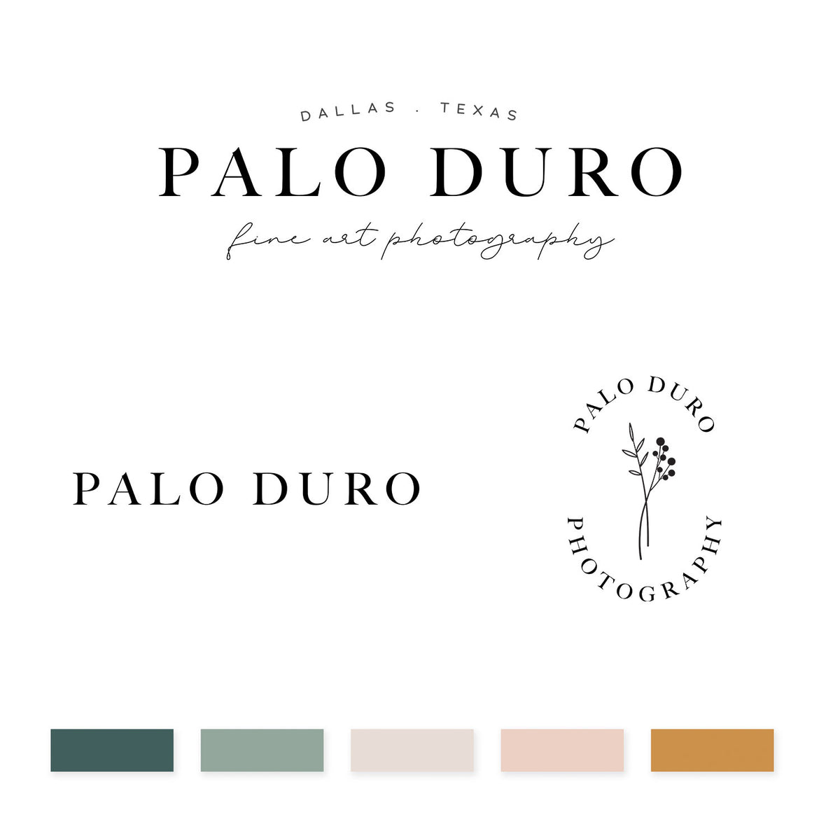 Palo Duro Brand Kit - jessica gingrich