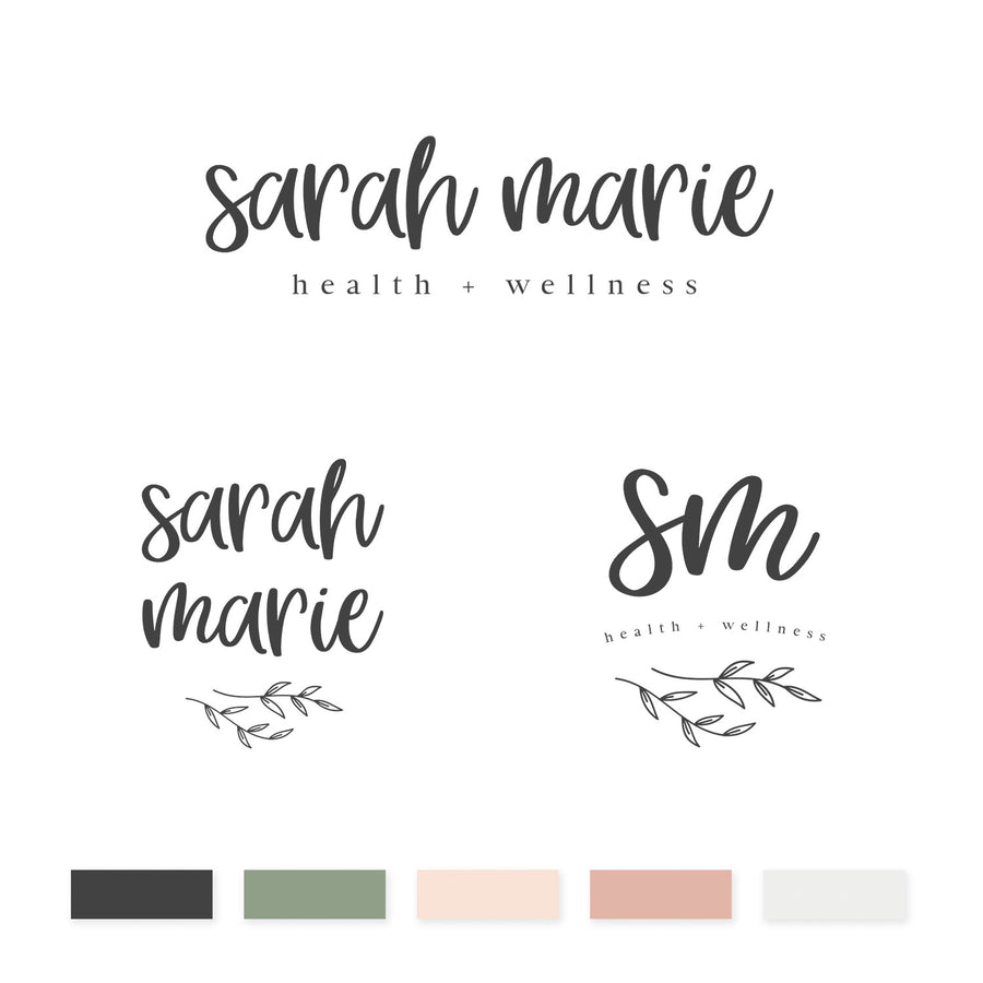Sarah Marie Brand Kit - jessica gingrich