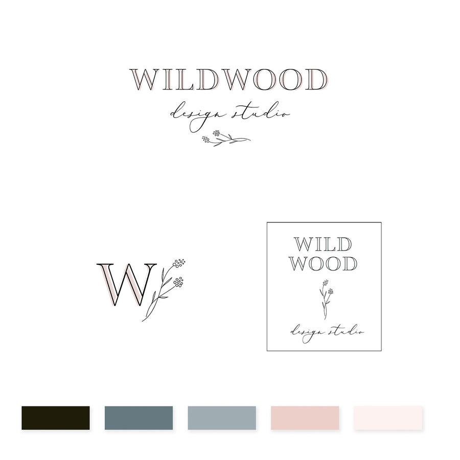 Wildwood Brand Kit - jessica gingrich