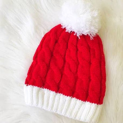 Santa Hat Beanie-Your Southern Heart Boutique-Your-Southern-Heart-Boutique