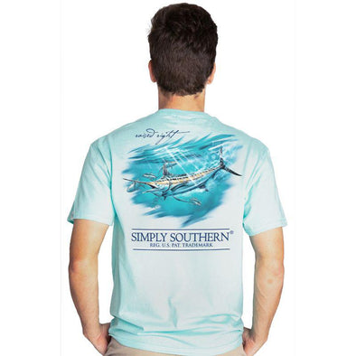 Simply Southern Guys Marlin T-shirt