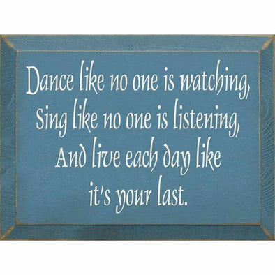 Dance Like No One Is Watching - Wood Sign-Wood signs-Your Southern Heart Boutique-Your-Southern-Heart-Boutique
