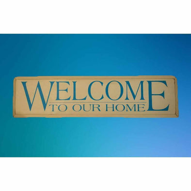 Welcome to Our Home - Wood Sign-Wood signs-Your Southern Heart Boutique-Your-Southern-Heart-Boutique