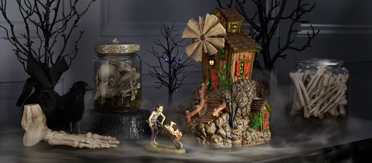 the snow village halloween series of houses characters and accessories are not just for the avid department 56 collector they are for anyone who looks