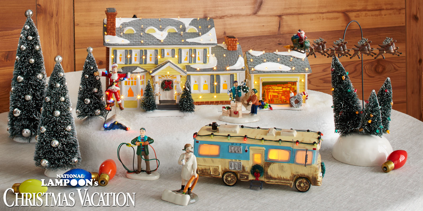 National Lampoon\'s Christmas Vacation Village - Department 56 Corner