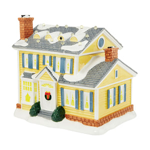 Lit Griswold House Cookie Jar