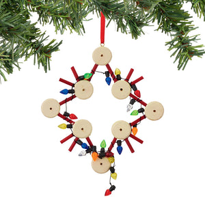 Tinker Toy Star ornament