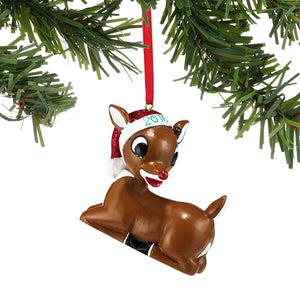 2016 Dated Rudolph Ornament