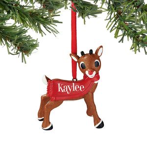 Rudolph Kaylee Ornament