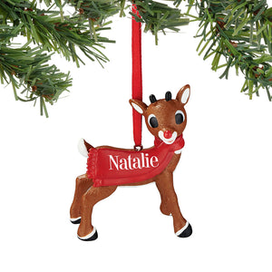 Rudolph Natalie Ornament