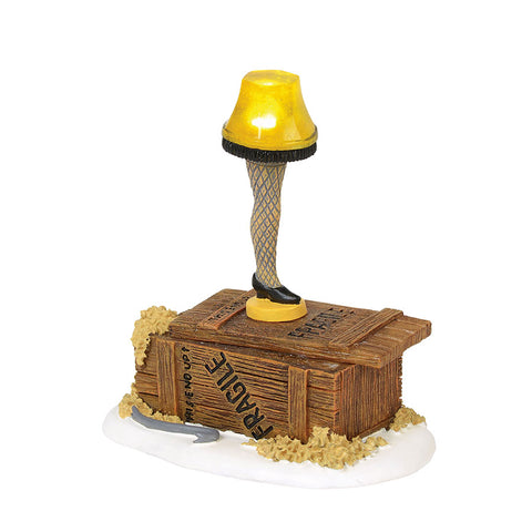 lit leg lampno a christmas story display is complete without a leg lamp that actually lights up powered by batteries this piece includes an adapter - A Christmas Story Village