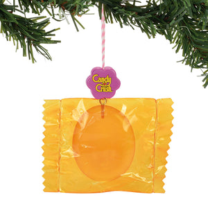 Candy Crush Orange Wrapped Orn