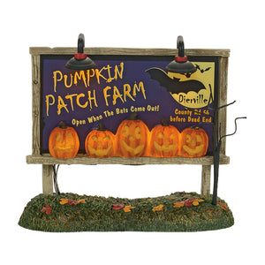 Lit Pumpkin Patch Billboard