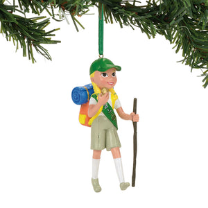 GS Junior Camping Ornament