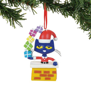 PeteTheCat Christmas Ornament