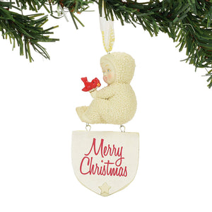 Merry Christmas Ornament