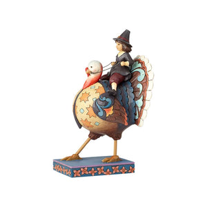 Pilgrim Riding Turkey