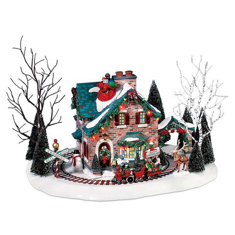 santas wonderland housesku 5655359welcome to the original snow village built with the same traditions and values found in small towns across america