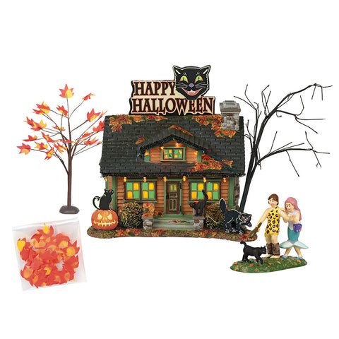 this halloween black cats are considered good luck charms at the black cat flat gift set includes the coordinating accessory black cat crossing