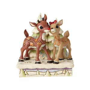 Rudolph and Clarice by Trees