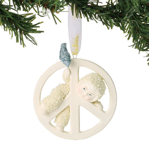 Peace Baby Ornament