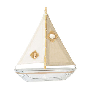 COAST Natural Sailboat Decor