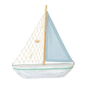 COAST Blue Sailboat Decor