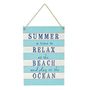 COAST SUMMER Wall Decor