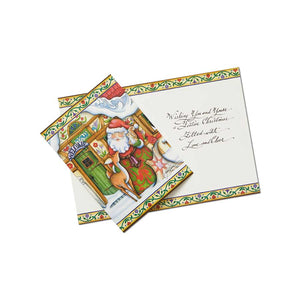 Santa Holiday Card Set of 10