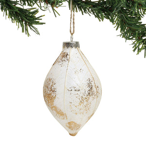CLAXM Leaf Finial Ornament