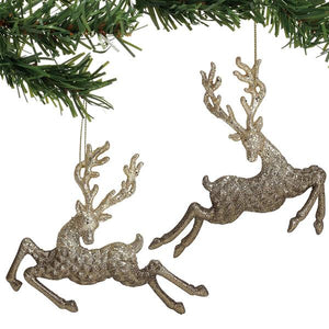 CLAXM Deer Ornaments