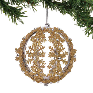 CLAXM Gold Ball Ornament