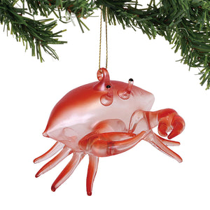 COAST Red Crab Ornament