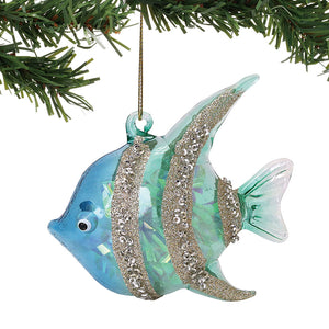 COAST Glass Angelfish Ornament