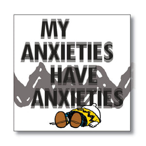 PNUTS My Anxieties magnet