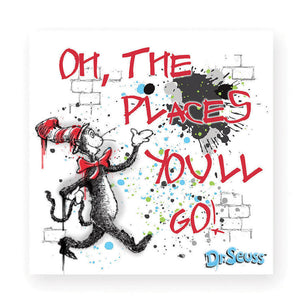 Oh The Places magnet