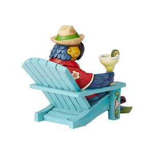 Parrot in Beach Chair