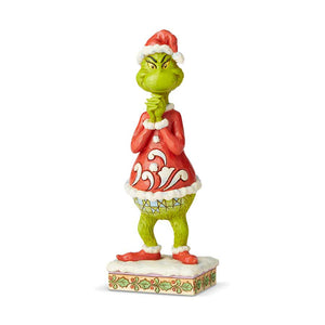 Grinch With Clasped Hands
