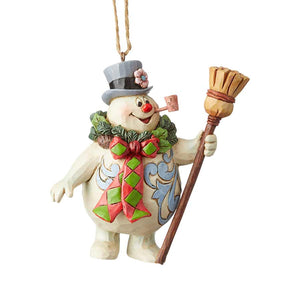 Frosty With Wreath
