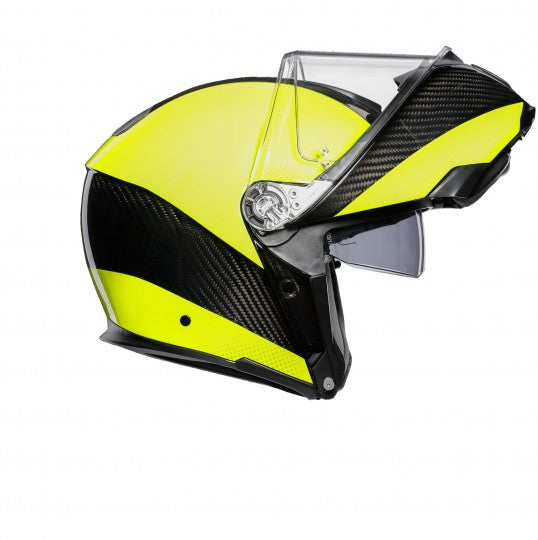 AGV Sports Modular Hi-Vis Carbon