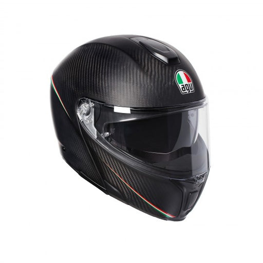 AGV SPORTS MODULAR TRICOLORE M.CARBON ITALY