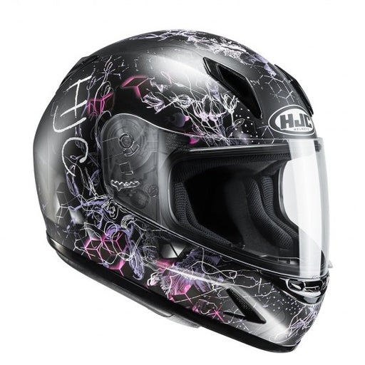 HJC CL-Y Vela Black Pink MC8SF
