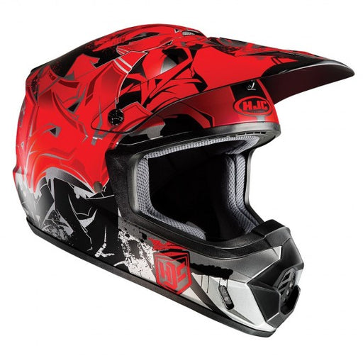 HJC CS-MX II Graffed MC1SF Red Helmet