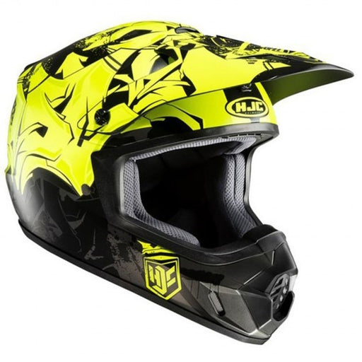 HJC CS-MX II Graffed MC4HSF Fluo Helmet