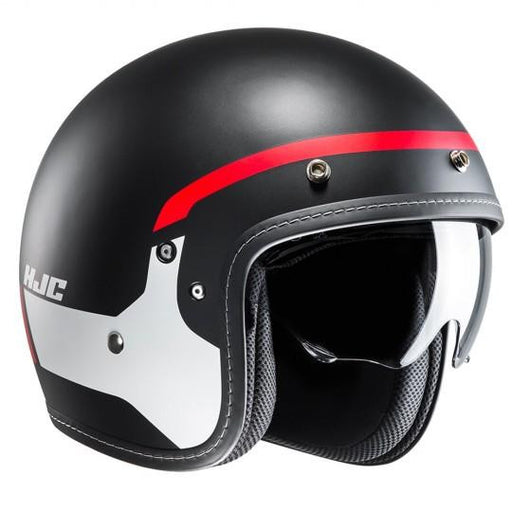 HJC FG-70 Modik Red Black MC1SF Helmet