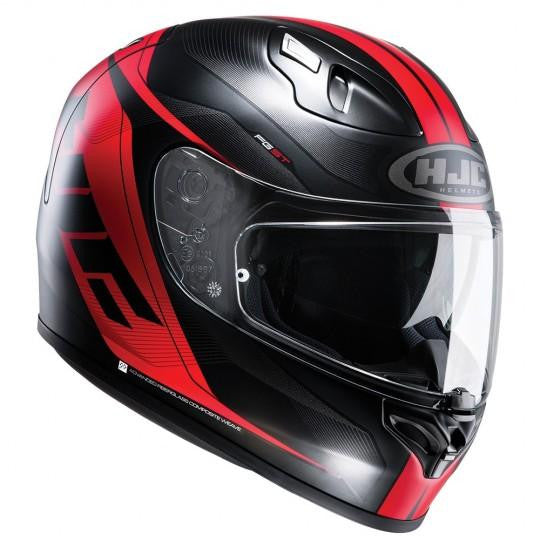 HJC FG-ST Crono MC1SF Black Red Helmet