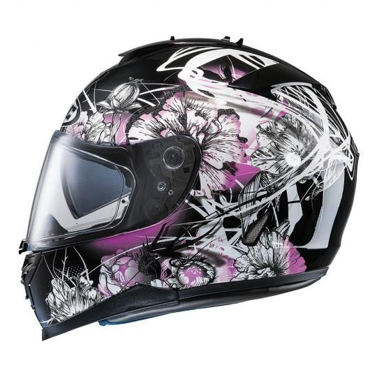 HJC IS-17 Barbwire MC31 Pink Helmet