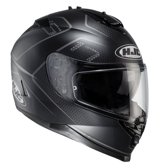 HJC IS-17 Lank MC5SF Black Helmet