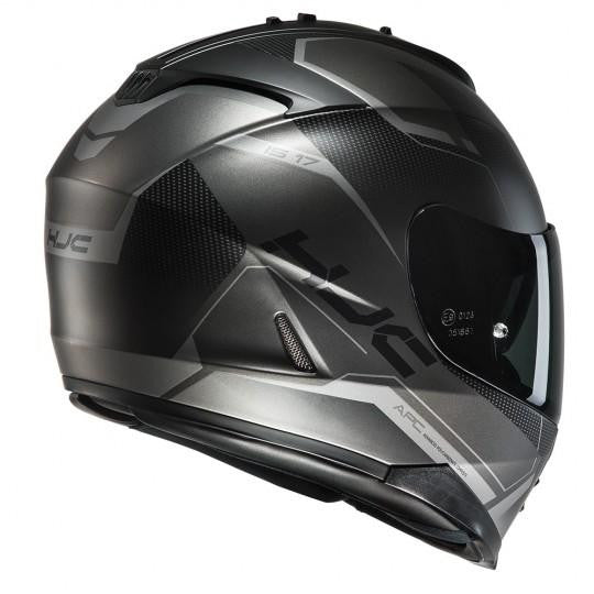 HJC IS-17 Loktar MC5SF Black Helmet