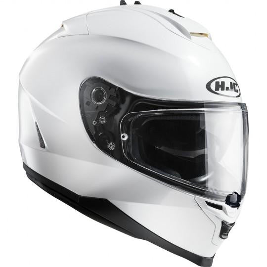 HJC IS-17 Plain White Helmet